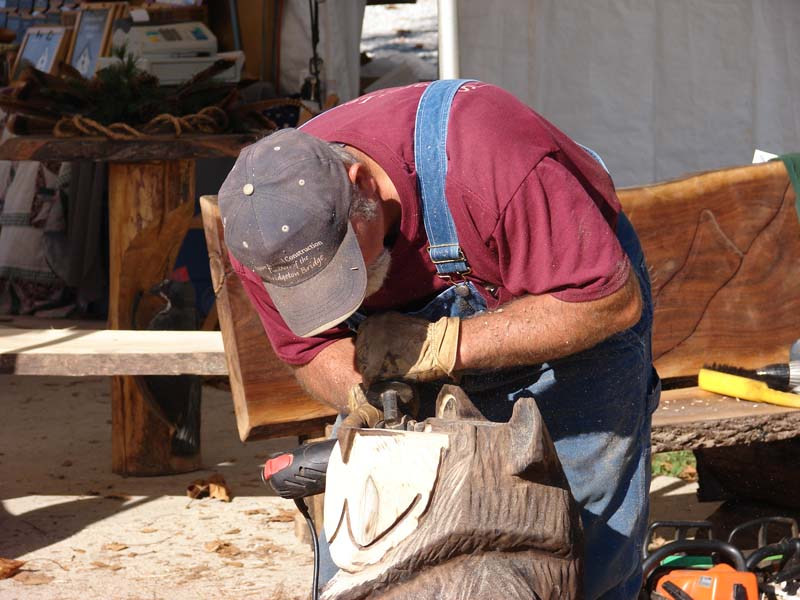 Dan Collom's Chainsaw Carving Photo Gallery